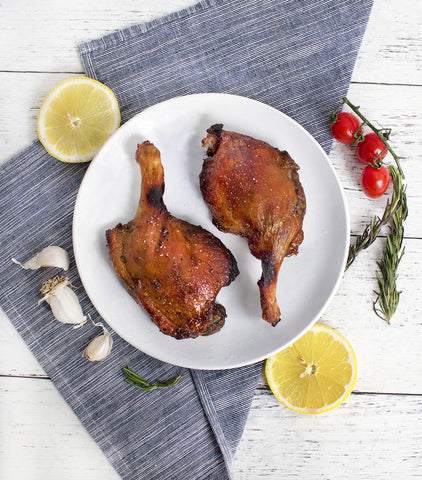 Confit duck legs from Silver Hill Farms, Ireland