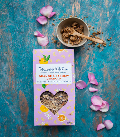 Primrose's Kitchen Organic Orange & Cashew Nut Granola