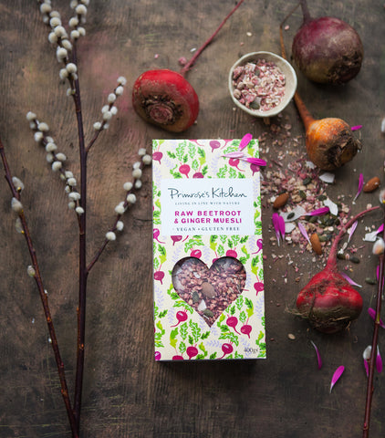Primrose's Kitchen Raw Beetroot & Ginger Muesli