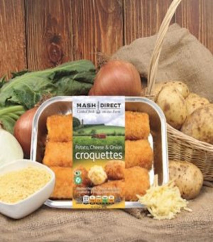 Mash Direct Potato Cheese & Onion Croquettes