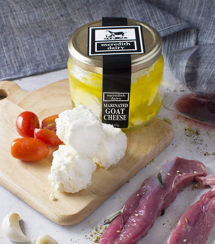 Meredith's Australian Marinated Goat Cheese