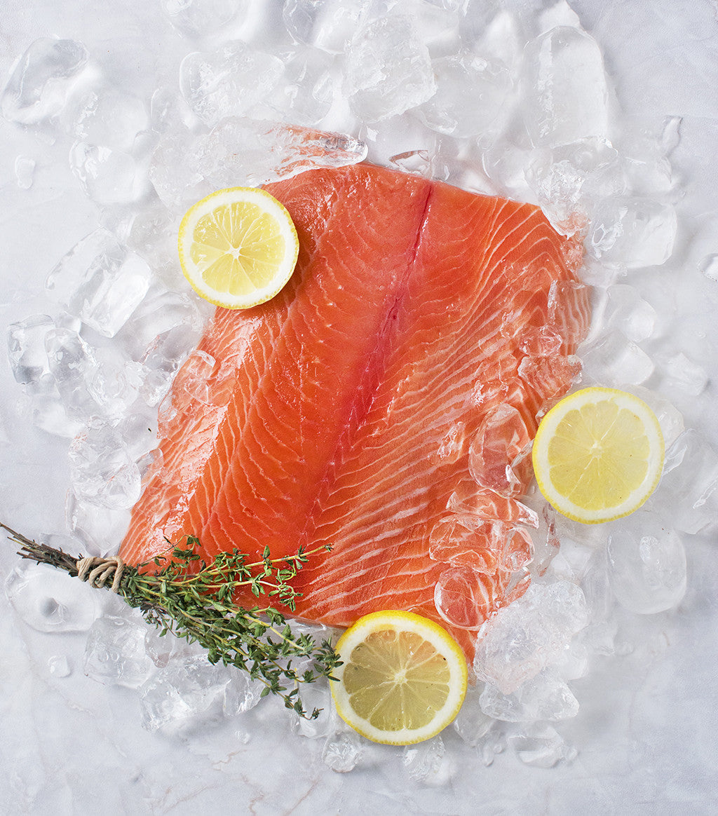 Mt Cook Alpine New Zealand Salmon Fillet €� Sasha's Fine Foods How To Cook  Salmon Fillets