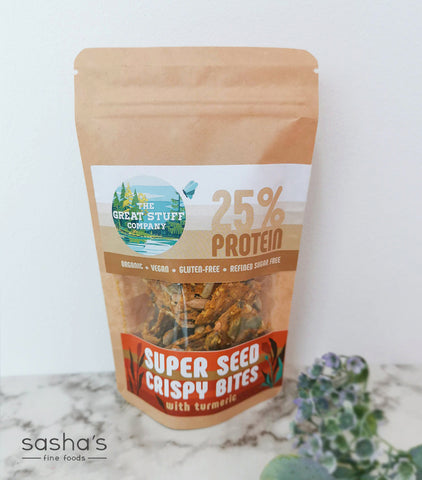 Super Seed Crispy Bites with Turmeric