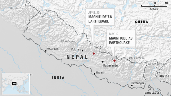 Nepal Update #7 – 7.3 Major Quake