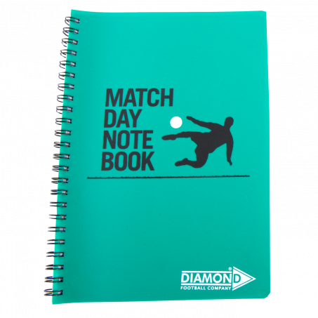 Diamond match day notepad