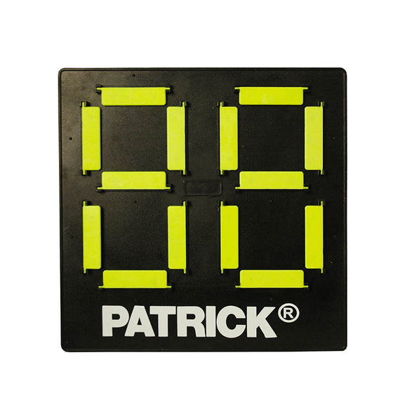 Patrick 2-digit substitution board