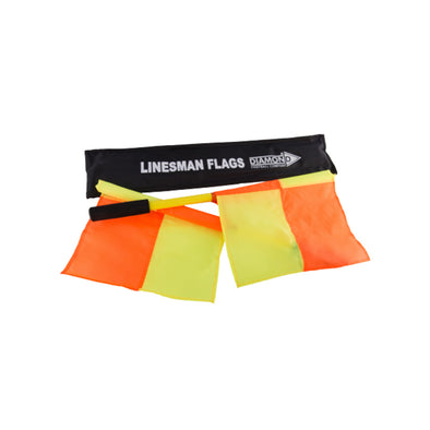 Diamond linesman flags