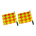 b+d Quadro I referee assistant flag set