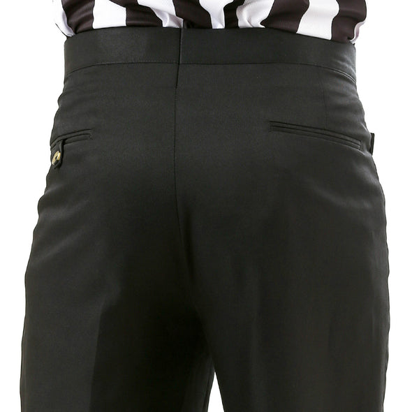 Sansabelt flat front mens pants with Western Cut pockets (satin)