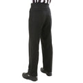 Smitty 4-way stretch flat front womens pants with Front Lay Slash pockets