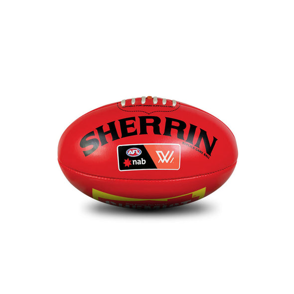 Sherrin AFLW replica mini ball
