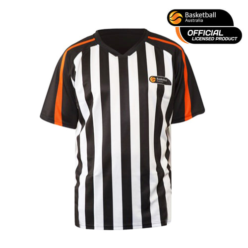 Basketball Australia referee shirt