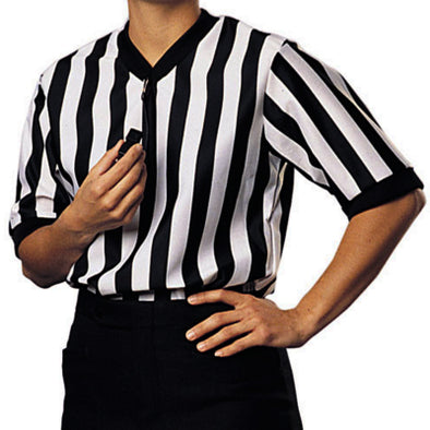 Cliff Keen Ultra-Mesh v-neck womens referee shirt