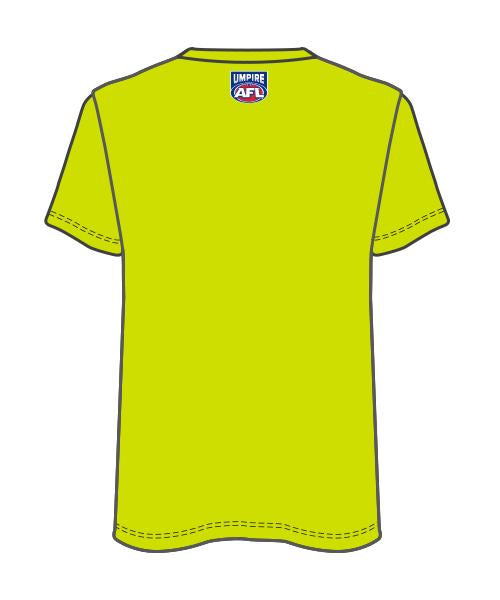 Project AFL umpire shirt