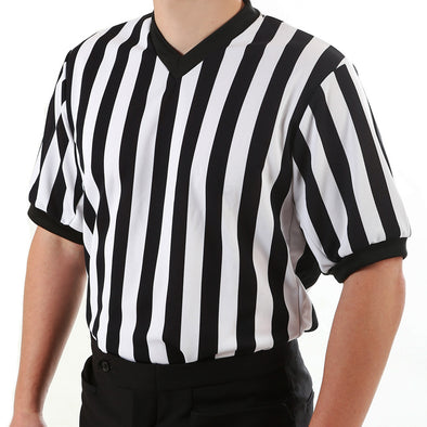 V-neck referee shirt