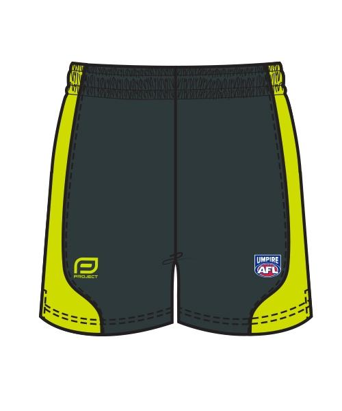 Project AFL umpire shorts