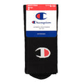 2pk Champion C Logo cushion socks (crew)