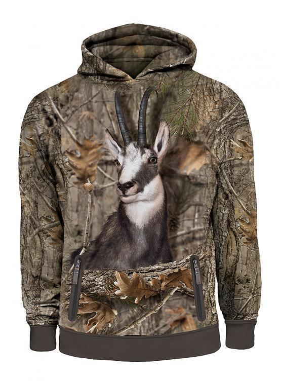 Hillman 3D Hoodie Gams Camouflage