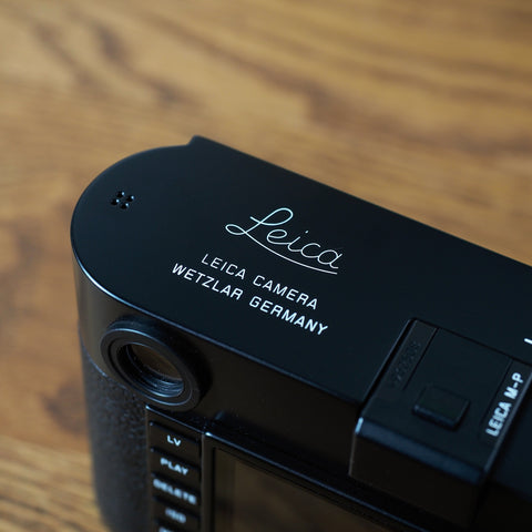 Leica M-P Typ240 Black Paint