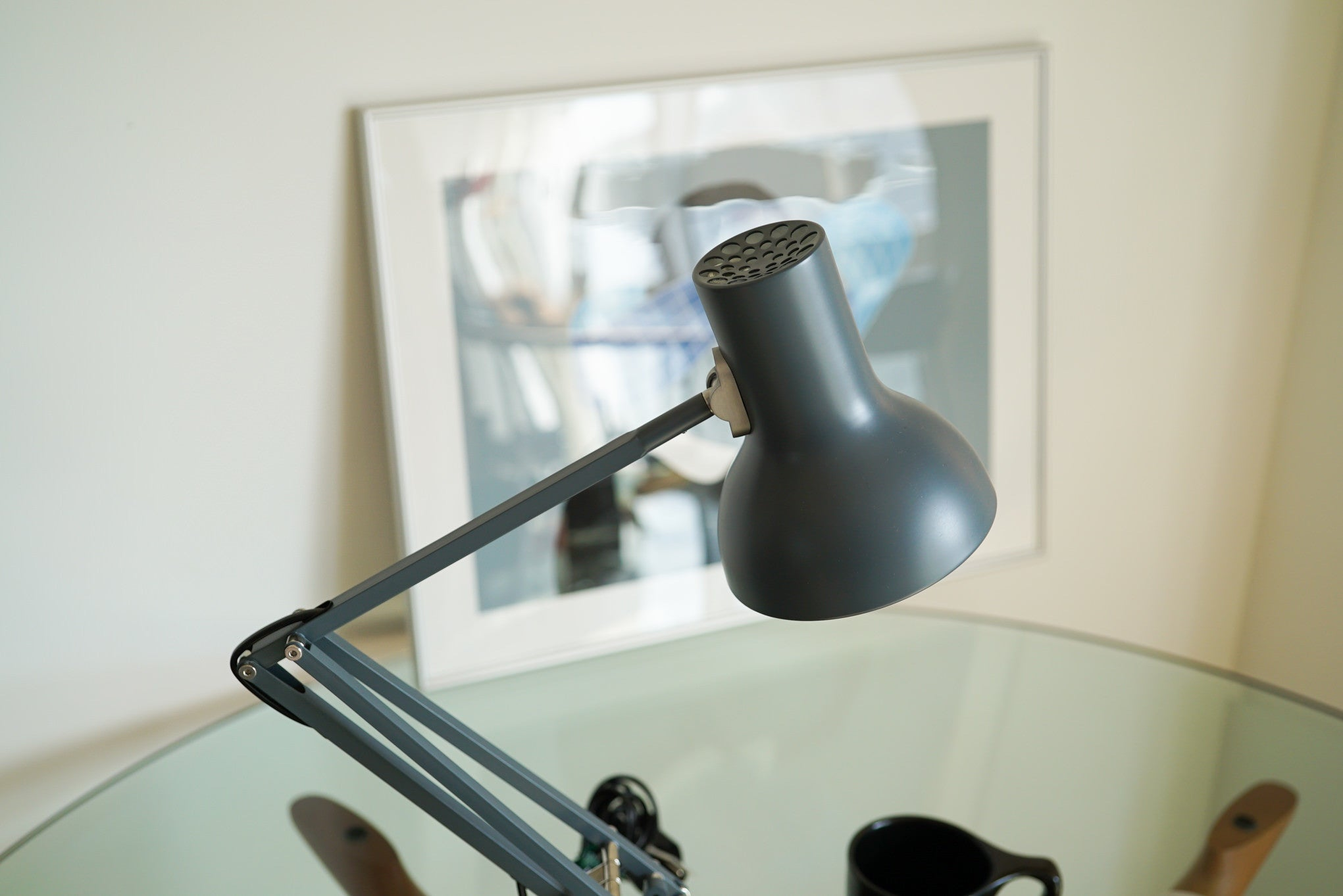 Anglepoise Type 75 Mini Desk Lamp - Slate Grey アングルポイズ ミニ グレー
