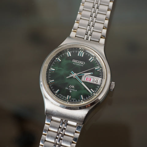 LORD MATIC 5606-6040 GREEN MARBLE DIAL