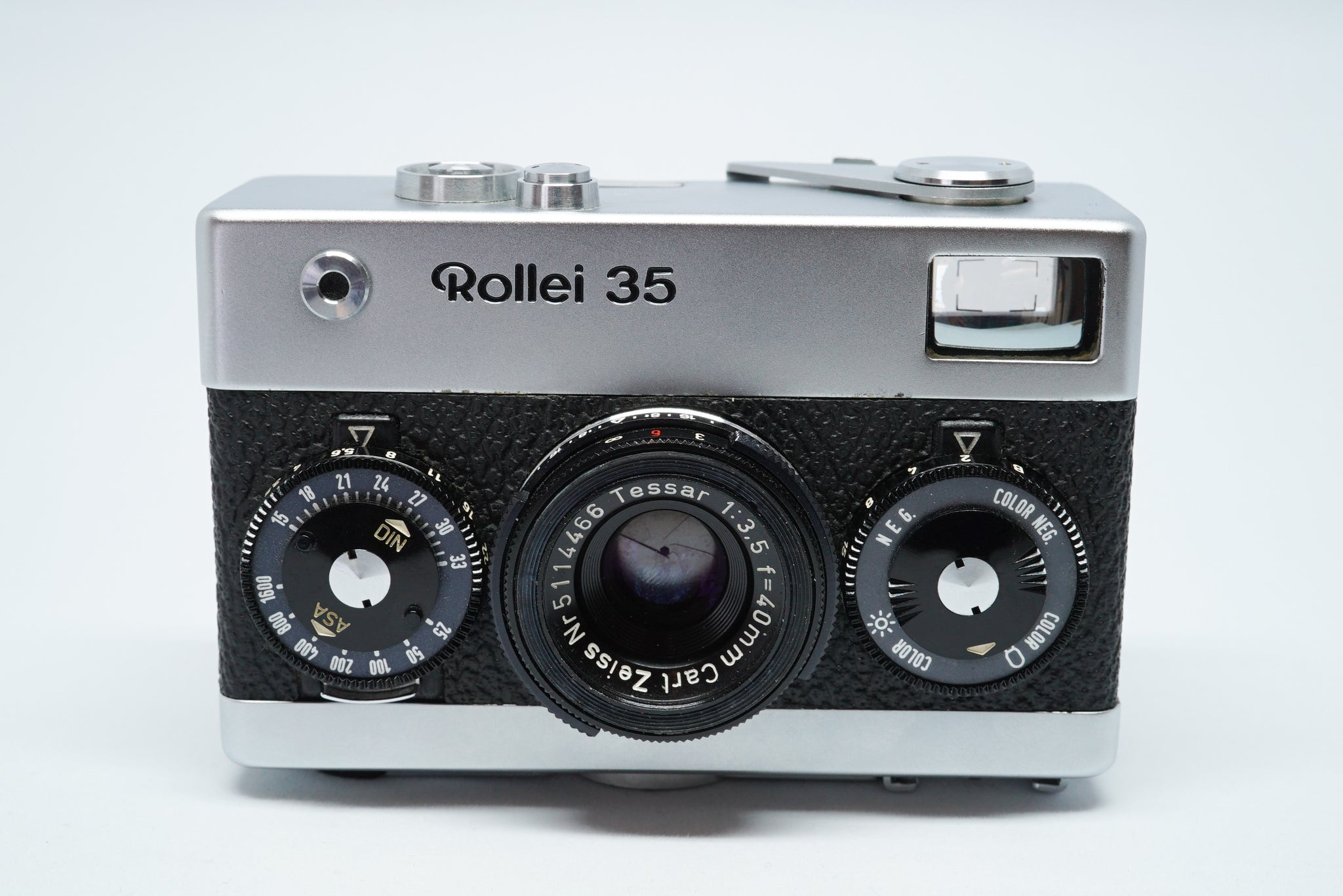 Rollei 35 シルバー Germany (Tessar 40mm f/3.5) 【整備済み】