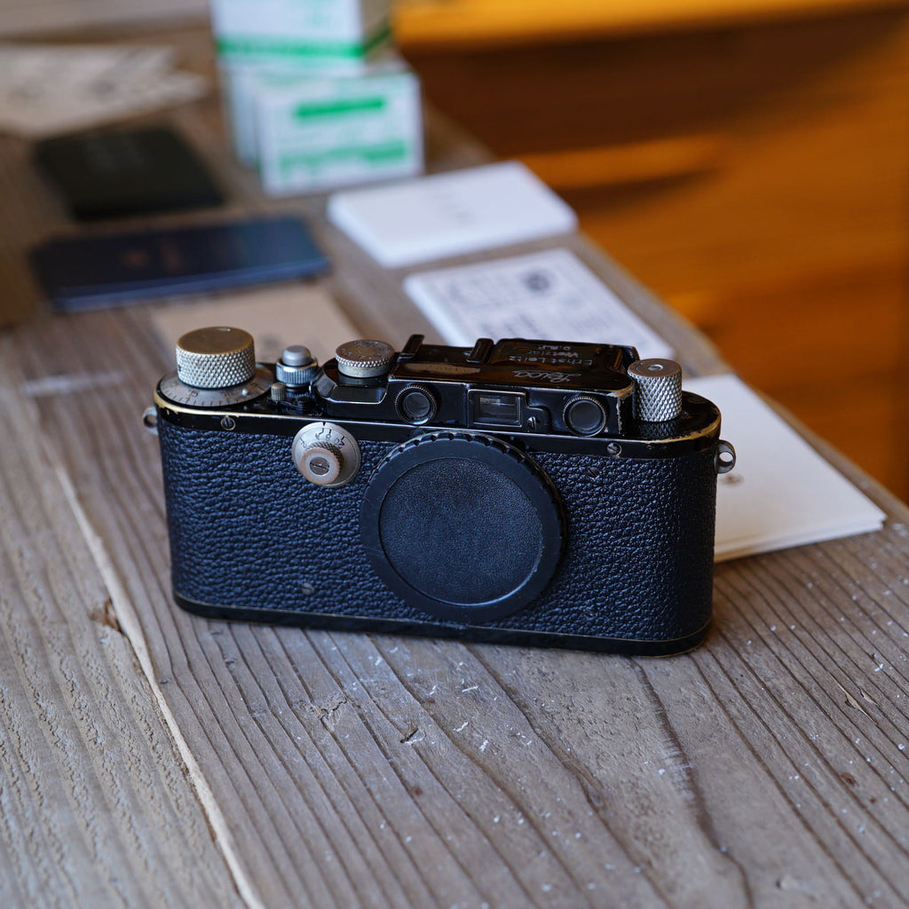 Leica DIII ブラックペイント【OH済み】