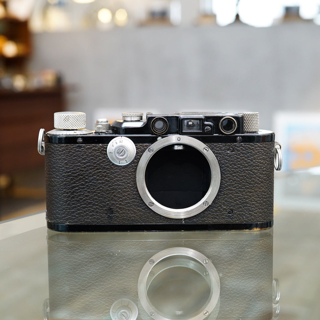 Leica III (DIII)  ブラックペイント【整備済み】