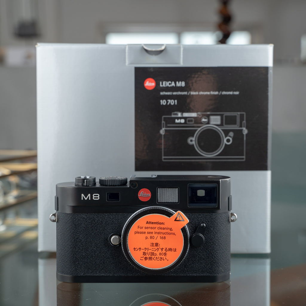 Leica M8 Black Chrome