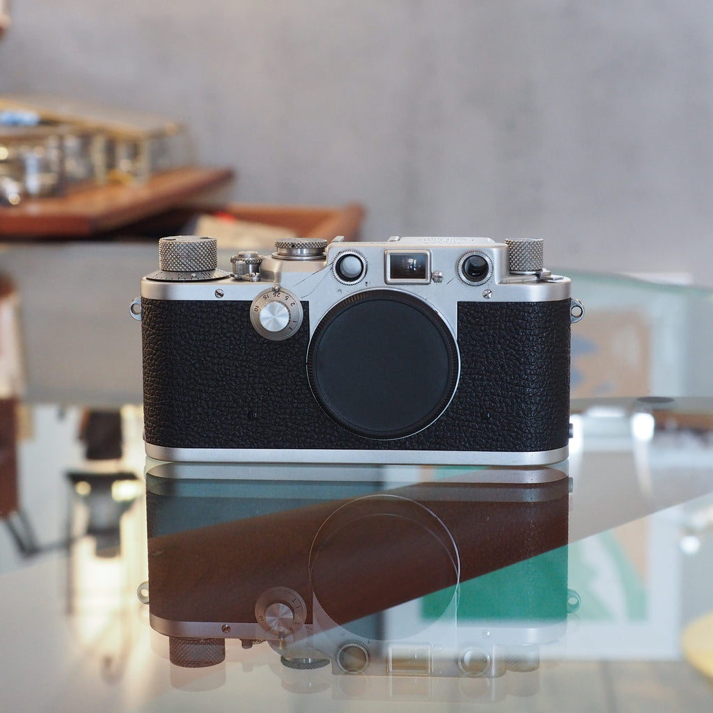 Leica IIIf クローム (Red Dial)【OH済み】