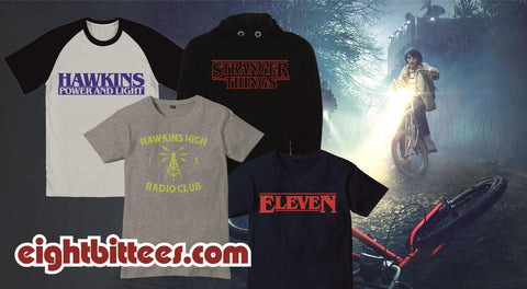 Stranger things t shirts