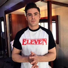 Zac Efron eleven stranger things t shirt