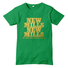 NEW MILLS NEW MILLS Derbyshire T-Shirt - eightbittees