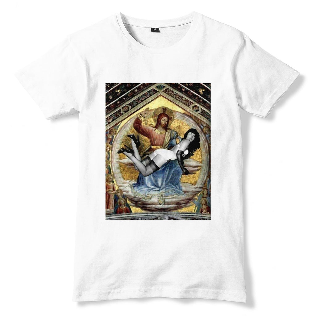 BETTIE PAGE And Jesus T-Shirt - eightbittees