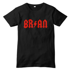 BRIAN Johnson AC/DC Inspired T-Shirt - eightbittees