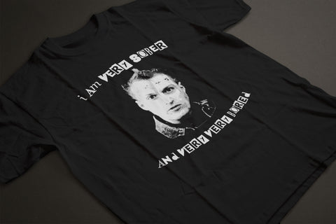 The Young Ones VERY SOBER AND VERY VERY BORED T-Shirt - eightbittees