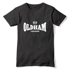 OLDHAM Lonsdale Style T-Shirt - eightbittees