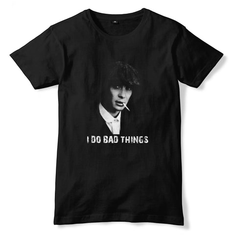 PEAKY BLINDERS I Do Bad Things T-Shirt - eightbittees