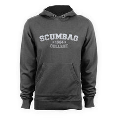 The Young Ones Silver SCUMBAG COLLEGE Inspired Hoodie - eightbittees