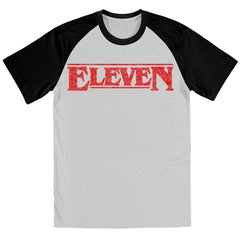 Eleven - STRANGER THINGS TV Show Inspired BASEBALL Shirt - eightbittees