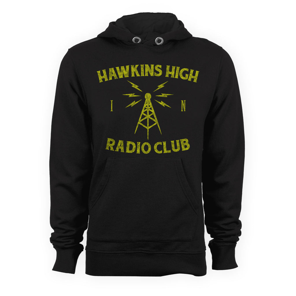 Hawkins High Radio Club STRANGER THINGS TV Show Inspired Hoodie - eightbittees