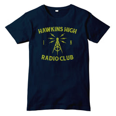 Hawkins High Radio Club STRANGER THINGS TV Show Inspired T-Shirt - eightbittees