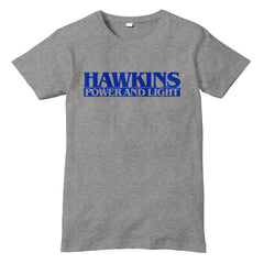 Hawkins Power And Light STRANGER THINGS TV Show Inspired T-Shirt - eightbittees