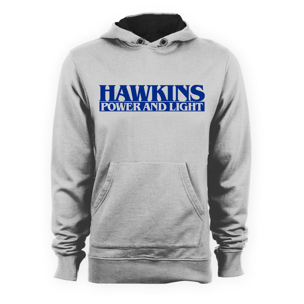 Hawkins Power And Light STRANGER THINGS TV Show Inspired Hoodie - eightbittees