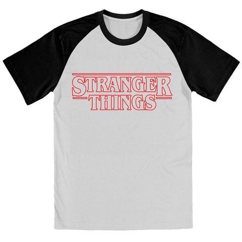 STRANGER THINGS TV Show Inspired BASEBALL Shirt - eightbittees