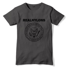 REALNYLONS Fully Fashioned Stockings Connoisseur / RAMONES Inspired T-Shirt - eightbittees