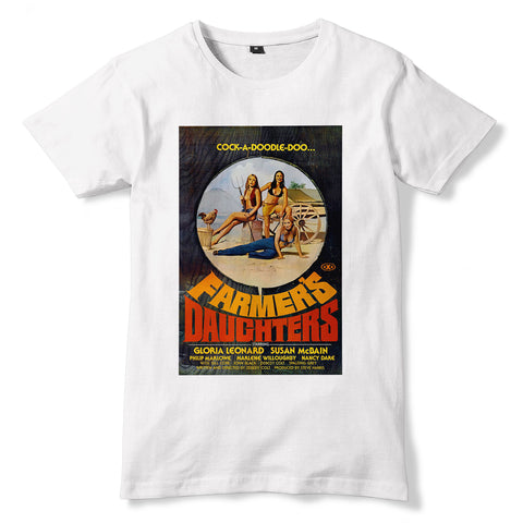 THE FARMER'S DAUGHTERS Film T-Shirt - Sublimation Print - eightbittees