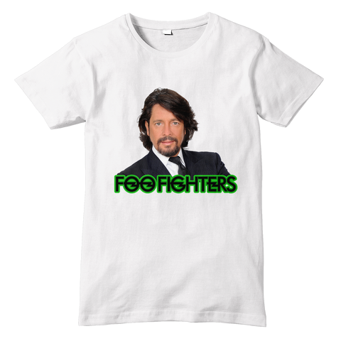 LAURENCE LLEWELYN-BOWEN / FOO FIGHTERS T-Shirt - Sublimation Print - eightbittees