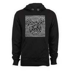 JOY DIVISION Mickey Mouse Style Hoodie - eightbittees