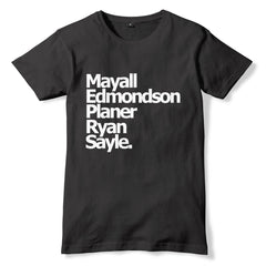The Young Ones SURNAMES T-Shirt - eightbittees